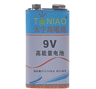 TianNiao 9V Zinc -Manganese Carbon Battery(1PCS)