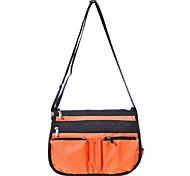 Pratical Nylon Multi-pockets Shoulder Bag