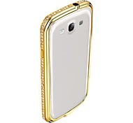 Crystal Diamond Bumper Case for Samsung Galaxy S3 I9300 (Assorted Colors)