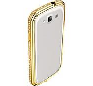 Kristall-Diamant-Stoßkasten für Samsung-Galaxie s3 i9300 (farbig sortiert)
