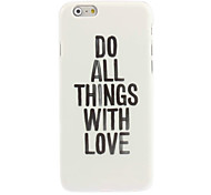 Love Design Hard Case for iPhone 6