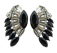 New Arrivals Smart Gemstone Stud Wing Earrings