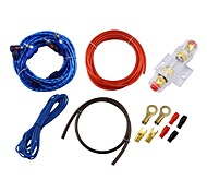 Car Speak Cable,Audio Wire+Power Wire+Fuse+Thin Wire+Metal Connector