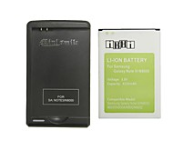 Minismile™ Replacement 4200mAh Li-ion Battery with Special Battery Charger for Samsung Galaxy Note 3 / N9000 / N9005