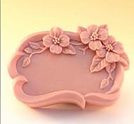 flor bolo fondant forma molde de silicone de chocolate