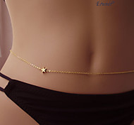 Eruner®Gold Plated STAR Waist Body Chain Fashionable Accessory Body Jewelry