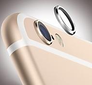 protector de caso de la cubierta círculo protector de lente de cristal del metal de la cámara trasera protectora anillo aro para el iphone 6