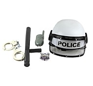 Weapons and Armor Police Festival/Holiday Halloween Costumes Silver / Black Solid More Accessories Halloween / Carnival / Children's Day
