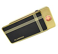 Personalized Black Classic  USB Electronic Lighter