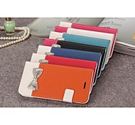Leather Fashion Set Auger for iPhone 6 Plus (Assorted Colors)