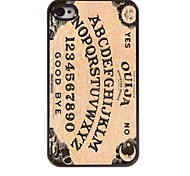 Ouija Design  Aluminum Hard Case for iPhone 4/4S