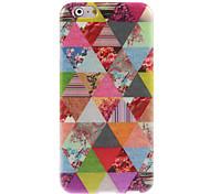 Dreieck Blume entwerfen weiche Tasche für iPhone 6