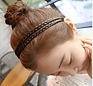 Lovely Sago Flax Flower Plait Hair Band(1pcs)