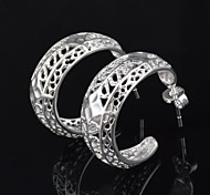 Women's Fashion High Quality  Hollow Out  Stud Earring