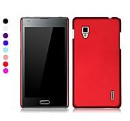 Pajiatu Hard Mobile Phone Back Cover Case Shell for LG E975 E973 (Assorted Colors)