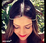 Miss ROSE®Punk Metal Chain Headband