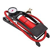 YingKee ® Bicycle Car Motorcycle High Pressure Foot Iron Pump Portable Pump with 5 Air Tap Barometer 4507