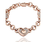 Chaînes & Bracelets ( Alliage / Strass / Plaqué Or Rose ) Soirée / Quotidien / Casual