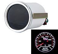 """2"""" 52mm White LED Water Temp Gauge Car Autometer Water Temperature Meter Sensor"""