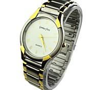 liga mostrador redondo relógio de pulso de quartzo analógico banda masculina