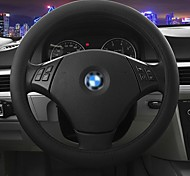LEBOSH™ Fashionable and Simple Micro Fiber Leather Punching Series Steering Wheel Cover