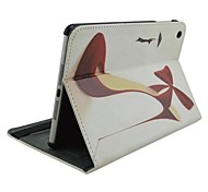 Fashion Painted Heels Rotated PU Protect Holster with Stand for iPad 2/3/4