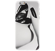 Black Lip Design Hard Case for iPhone 6