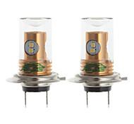 zweihnder h7 10w 900lm 6000 ~ 6500k 8x2323 SMD ha condotto la lampadina luce bianca per auto fendinebbia (12-24V, 2 pezzi)