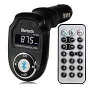 BT-303 Multifunctional Bluetooth V2.1 Handsfree Car Kit MP3 Player FM Transmitter A2DP