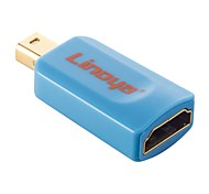 linoya® Mini DisplayPort a HDMI macho a hembra adaptador