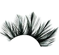 Loose Feather Black Carnival Eyelashes