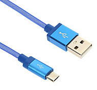 Micro USB Aluminium Fishnet Charger Cable