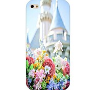 Flower Pattern Hard Back Case for iPhone 4/4S