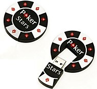 4GB Cool Poker Chip USB Flash Pen Drive