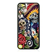 Abstract the Skeleton Leather Vein Pattern Hard Case for iPod touch 5
