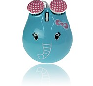 Lovely Elephant Wired Mouse for Desktop Laptop Colour Cable USB Mouse