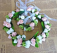 Women's Fabric Headpiece - Wedding Wreaths