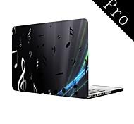 "Notenschrift Design Ganzkörper-Kunststoffschutztasche für MacBook Pro 13 ""/ 15"" (Nicht-Netzhaut)"