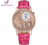 Mulheres Rhinestone moda relógio casual vestido pulseira relógio de senhoras (cores sortidas)