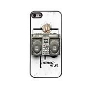 Radio Design Aluminum Hard Case for iPhone 5/5S