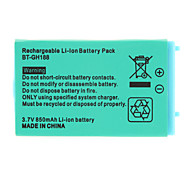 3.7V 700mAh Rechargeable Li-ion Battery for GBA Gameboy Advance SP with Screwdriver