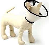 col de la défense plastique de haute qualité pour les chiens de compagnie (taille 1)