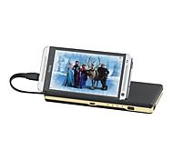 13000mAh potencia incorporado micro banco de potencia cable usb para el iphone 6.6 más / Samsung / otros dispositivos móviles Nota4