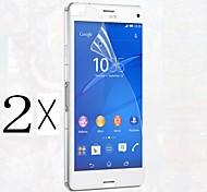 [2-Pack]Professional High Transparency LCD Crystal Clear Screen Protector with Cleaning Cloth for Sony Xperia Z1 Mini