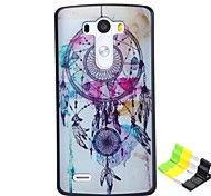 Campanula Pattern PC Hard Case and Phone Holder for LG G3