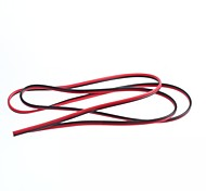 0.75 Square Parallel Lines and Cable Lines 2P Red and Black Copper Wire 24 (1M)