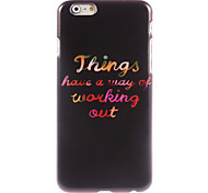 Colorful Design Hard Case for iPhone 6
