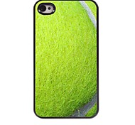 Tennis Design Aluminum Hard Case for iPhone 4/4S