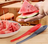 Multifunctional Watermelon Peeling Machine,Plastic 23.5×3×1.5 CM(9.3×1.2×0.6 INCH)  Random Color