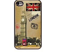 Sights of London Design Aluminum Hard Case for iPhone 4/4S
